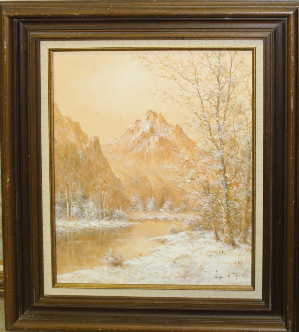 Hyun Bo Yoo (SK 1946-) Mountains
