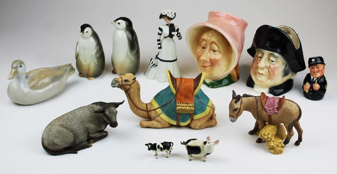 Porcelain figurines incl. Royal Doulton, Lenox
