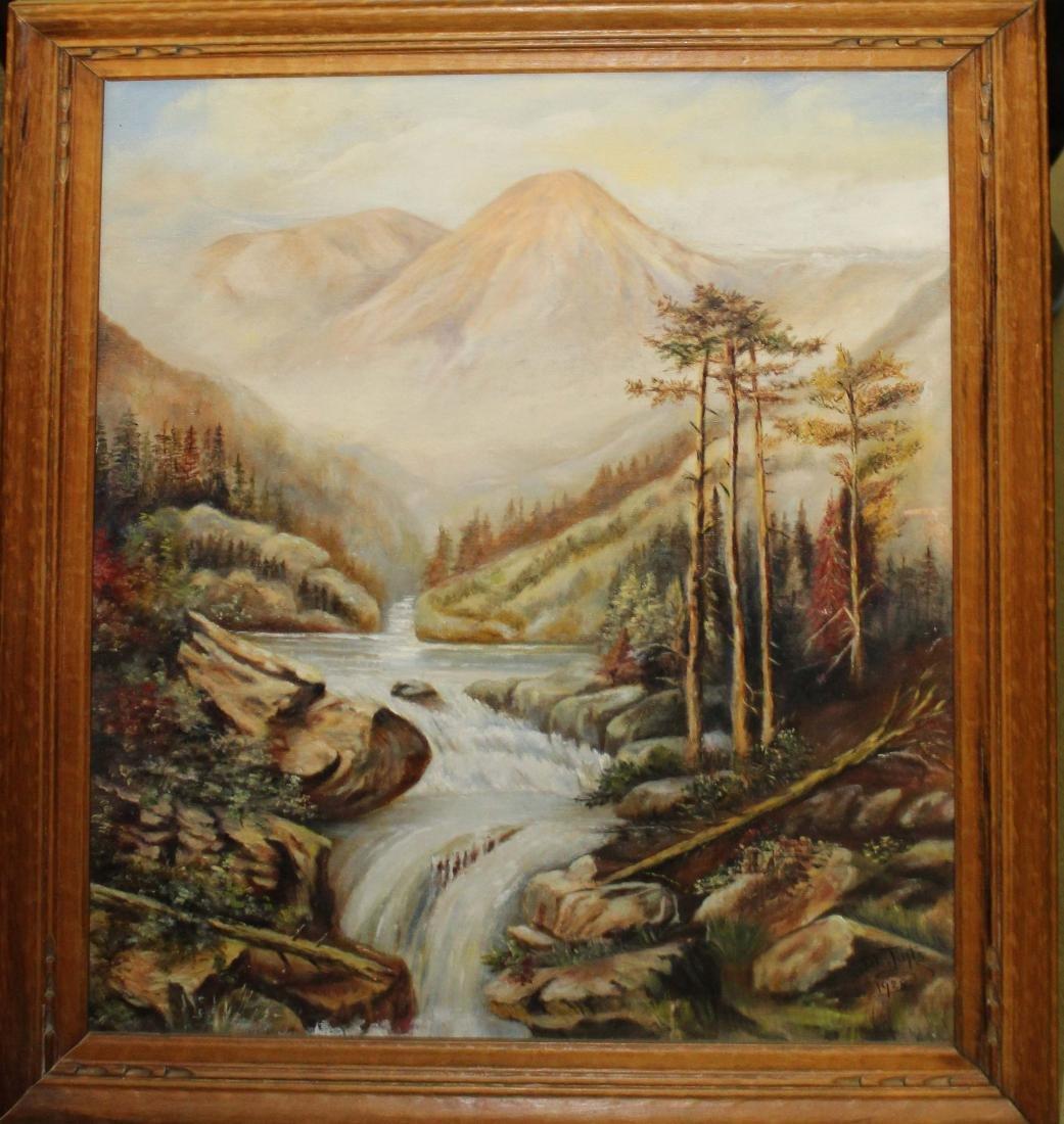 D.E. Tufts western landscape