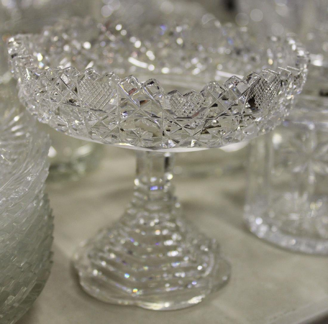 large lot of glass and crystal incl. Waterford