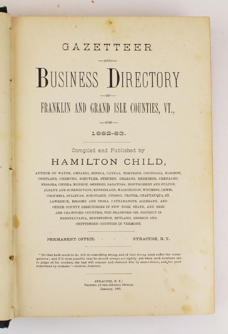 1883 Child's Franklin & Grand Isle County