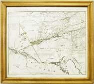 Ca 1780 map Northern North America