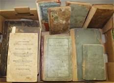 19th c recipe books, Ben Franklin readers