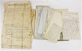early Vermont and New England letters and paper