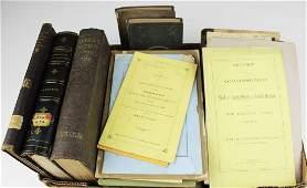 19th c VT books, pamphlets, almanacs
