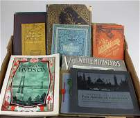 late 19th- early 20th c travel pamphlets