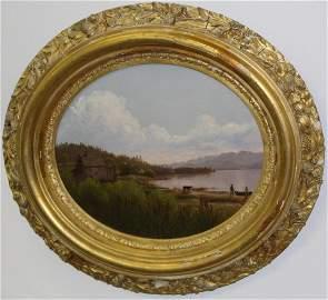 Charles Louis Heyde (VT 1822-1892) Red Rocks