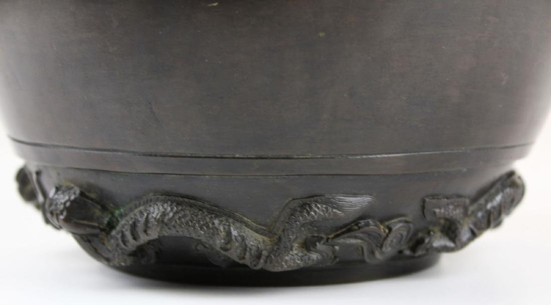 late 19th- early 20th c Japanese bronze vessel - 6