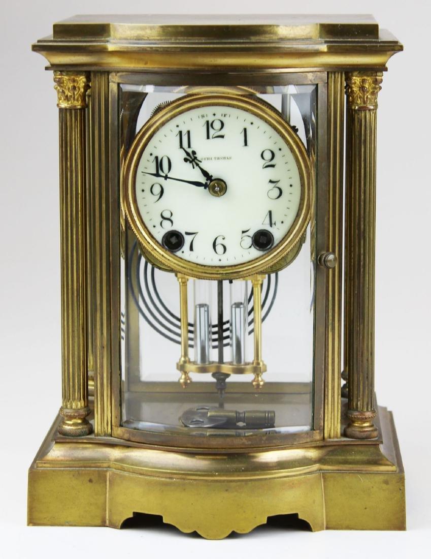 early 20th c Seth Thomas crystal regulator