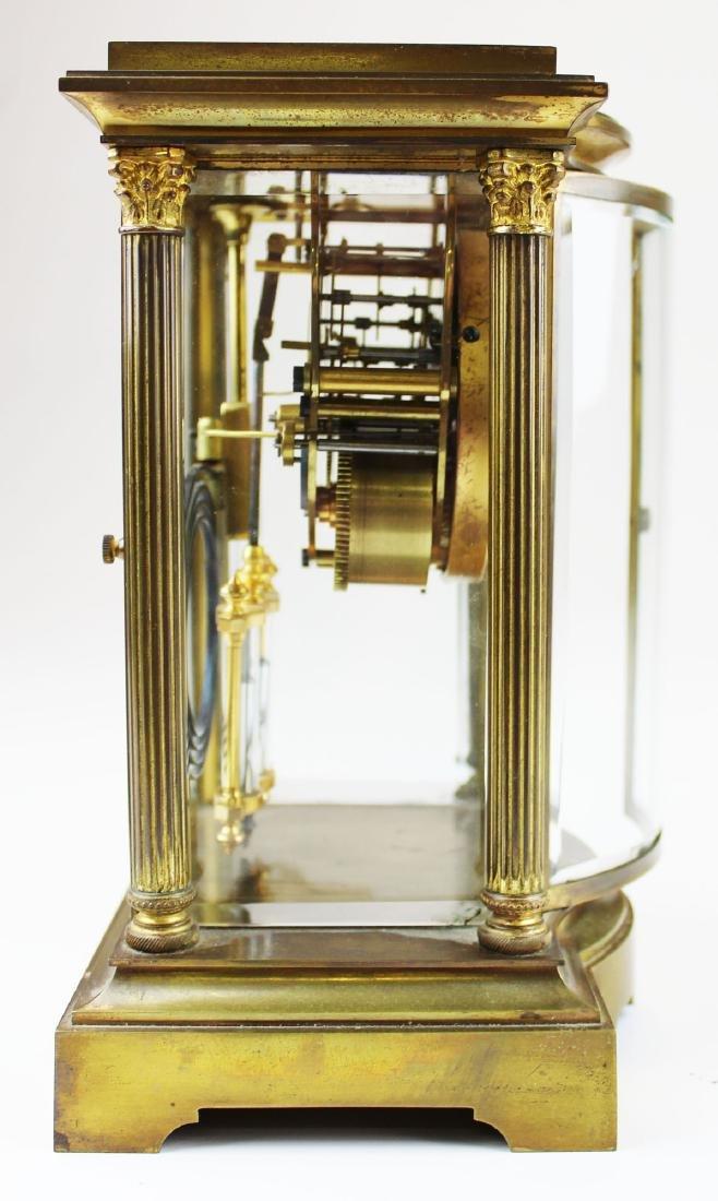 early 20th c Seth Thomas crystal regulator - 3