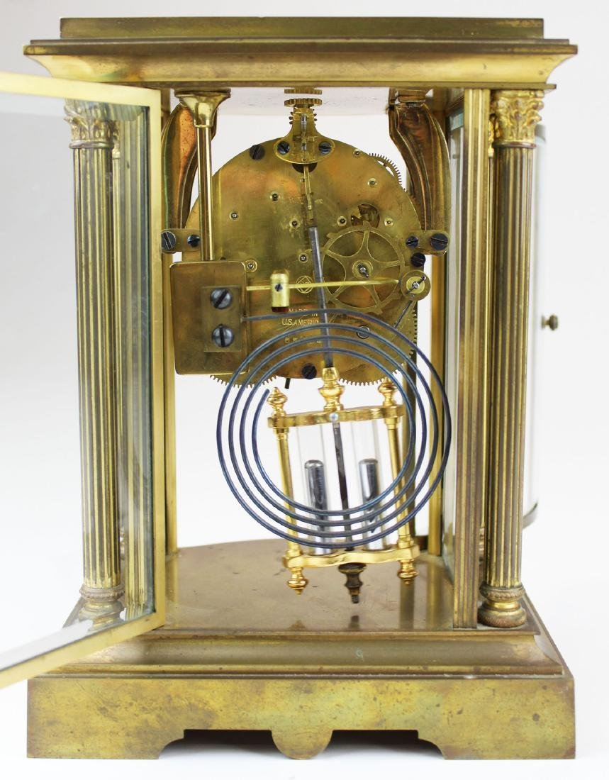 early 20th c Seth Thomas crystal regulator - 4