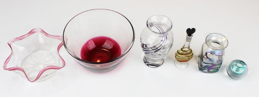 6 pcs. Contemporary studio art glass - 2