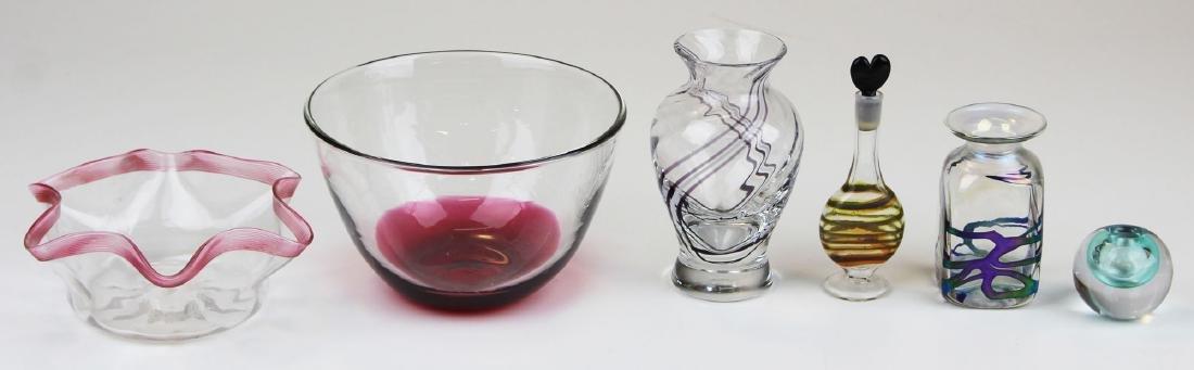 6 pcs. Contemporary studio art glass - 3