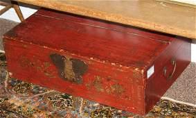 late 19th c Chinese storage box