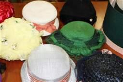 vintage hats & hat boxes