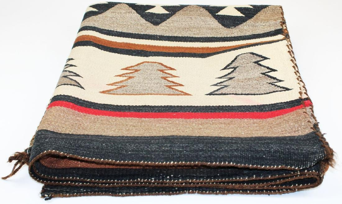 early 20th c Navajo 5 color blanket