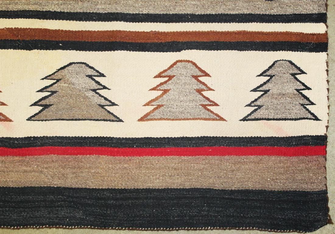 early 20th c Navajo 5 color blanket - 3