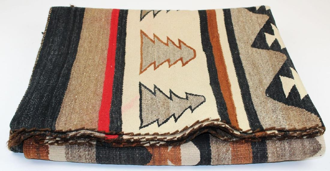 early 20th c Navajo 5 color blanket - 4