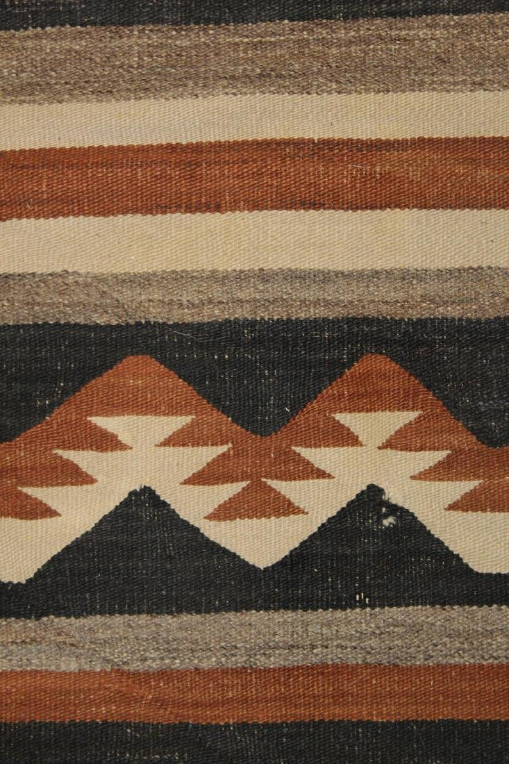 early 20th c Navajo 5 color blanket - 5