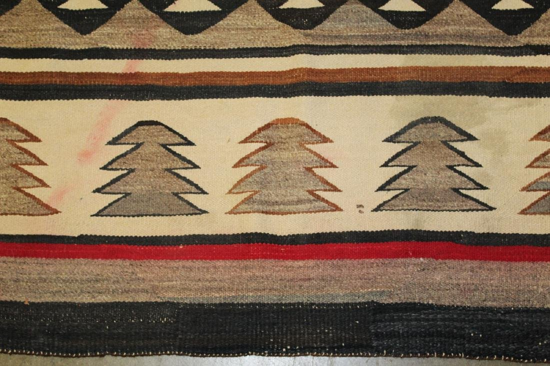 early 20th c Navajo 5 color blanket - 6