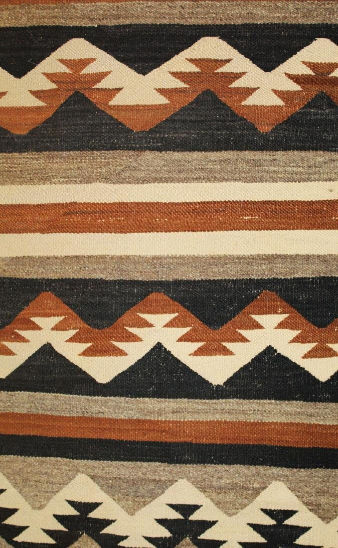early 20th c Navajo 5 color blanket - 7