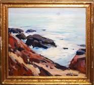 Emile A Gruppe (VT 1896-1978) Bass Rocks