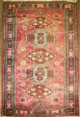 Contemporary Yalameh style oriental area rug