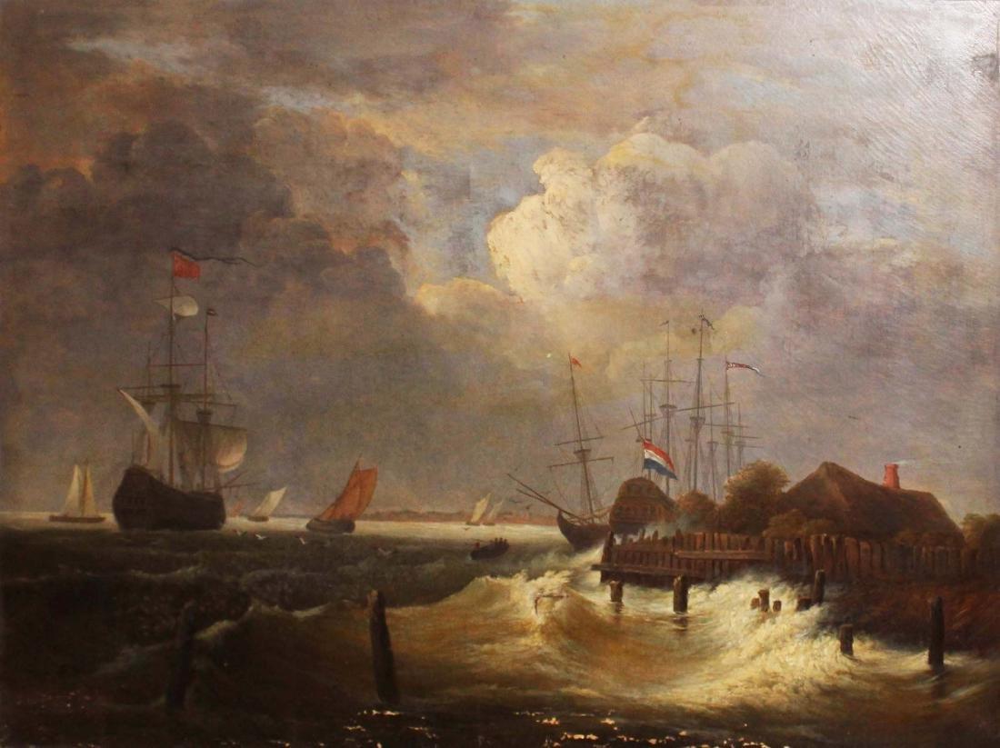 After Jacob Isaackszon Van Ruisdael (1628-82) - 2