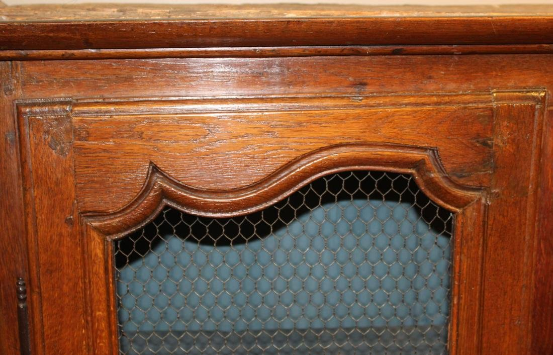 French carved pie cupboard - 2