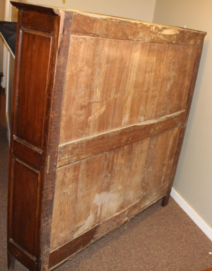 French carved pie cupboard - 5