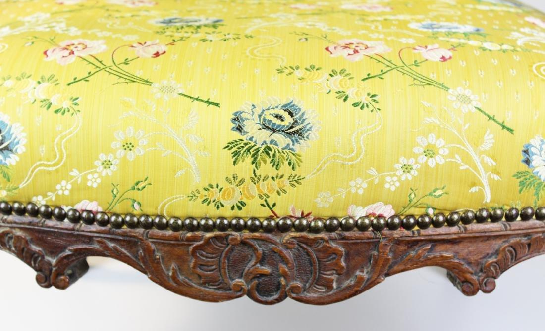 18th c Louis XV walnut arm chair - 2