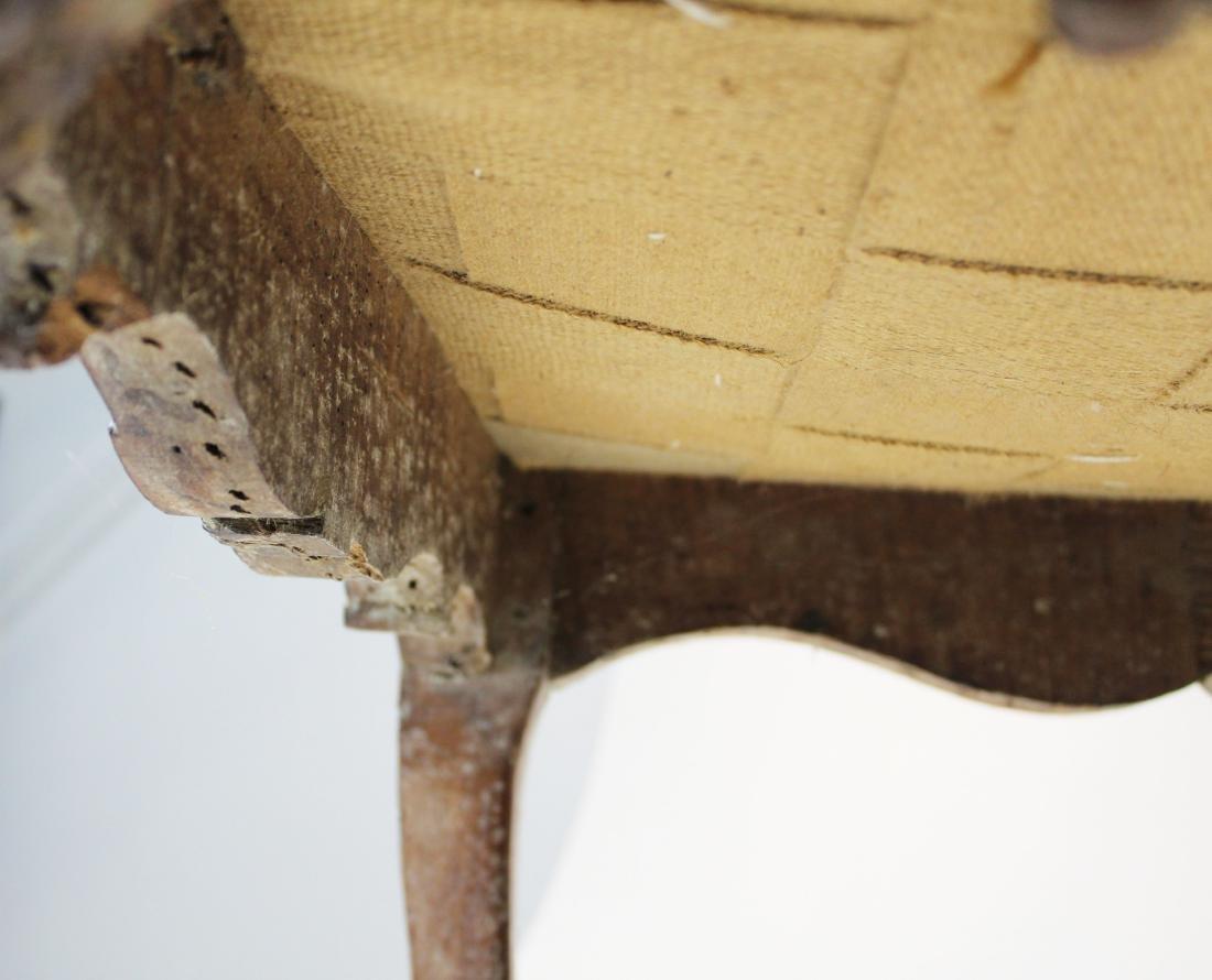 18th c Louis XV walnut arm chair - 7