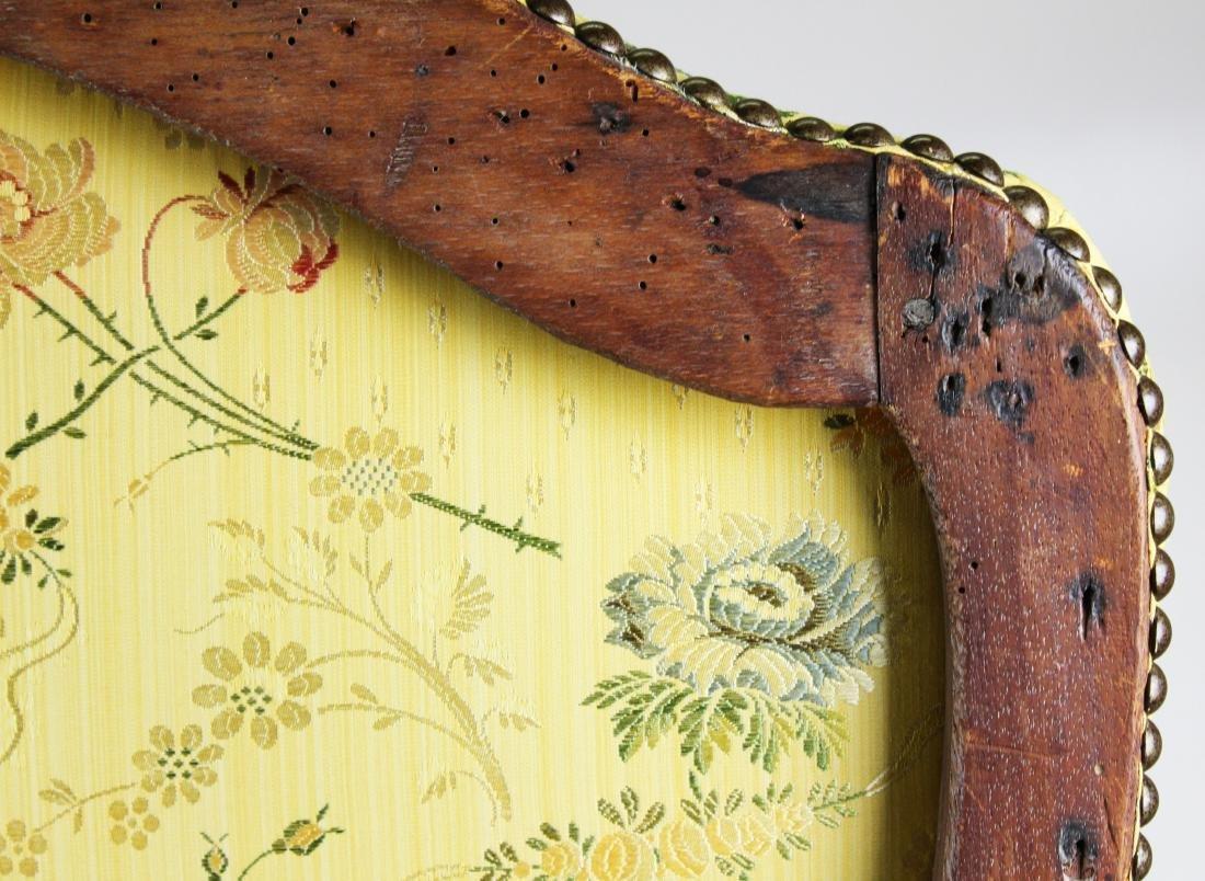 18th c Louis XV walnut arm chair - 9