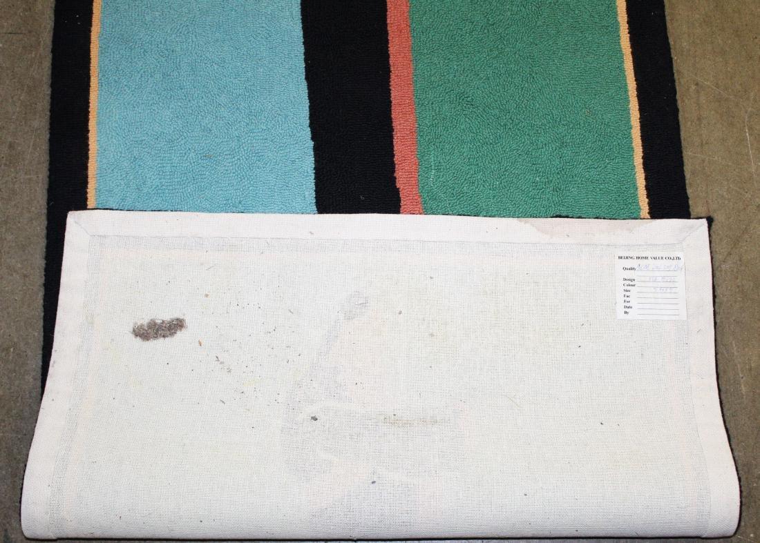 Stephen Huneck design hooked rug - 4