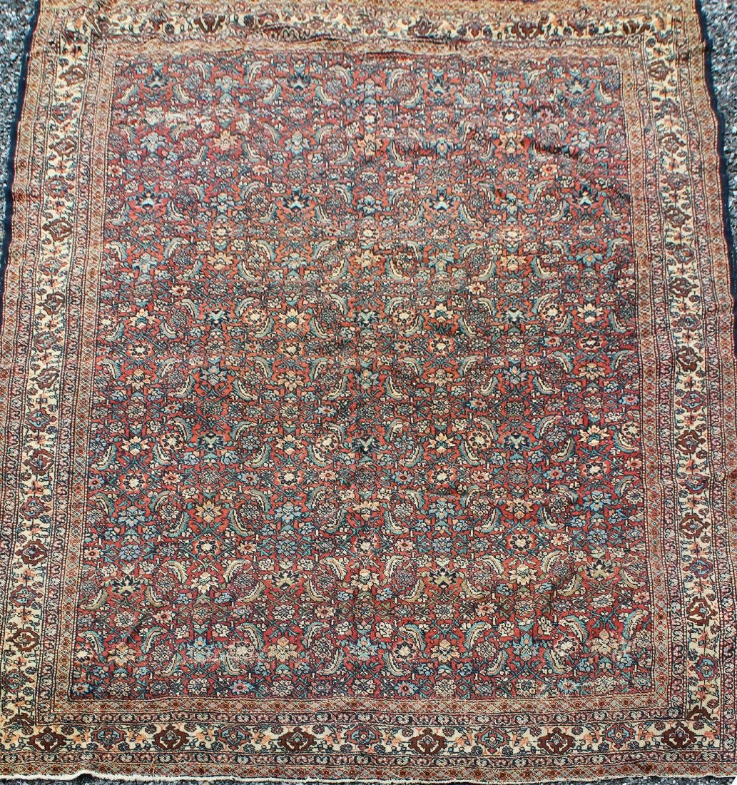 early 20th c Persian allover floral main carpet