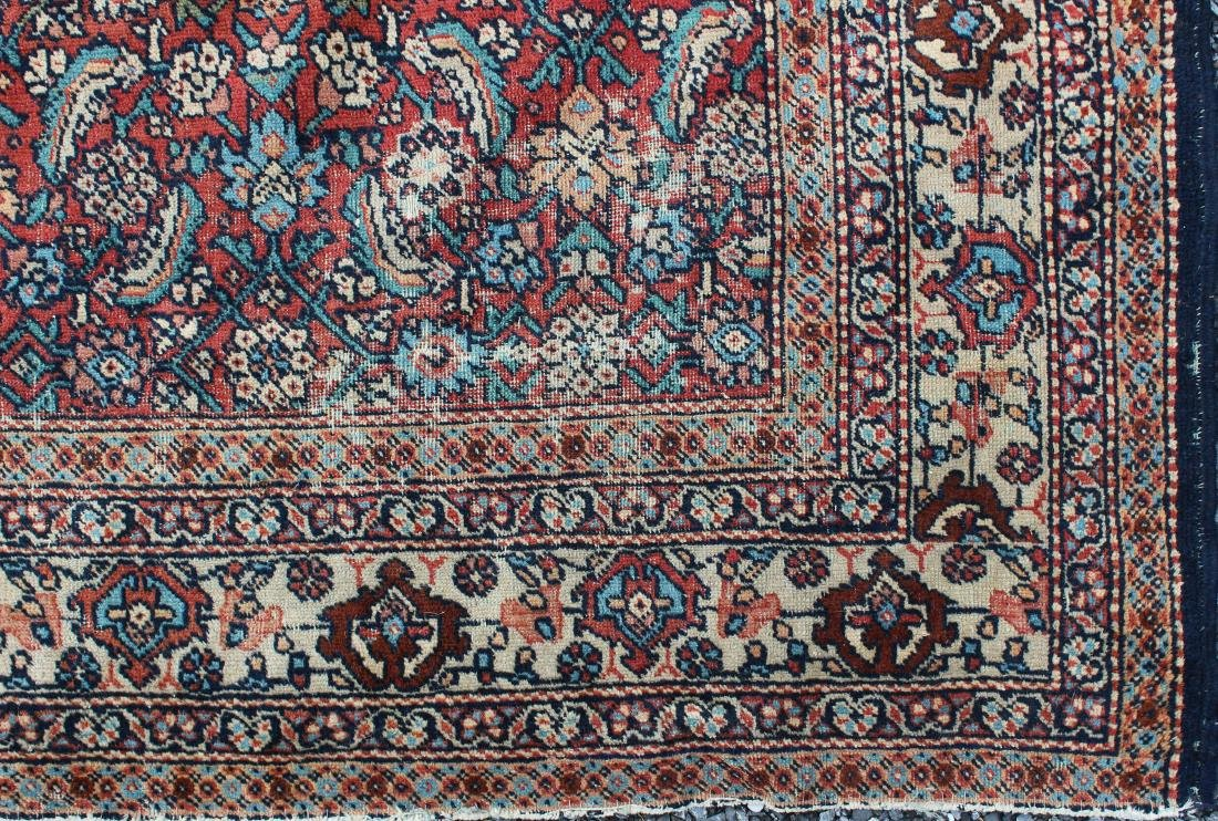 early 20th c Persian allover floral main carpet - 2