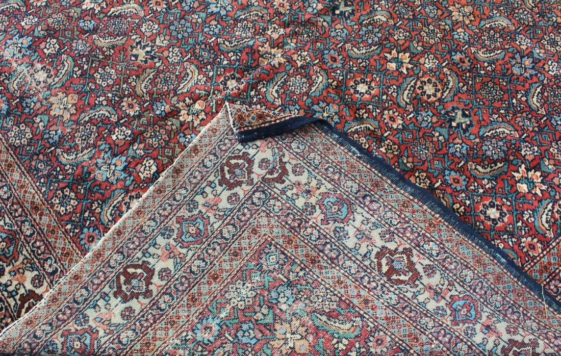 early 20th c Persian allover floral main carpet - 3