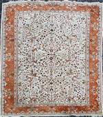 mid 20th c IndoPersian Tabriz main carpet