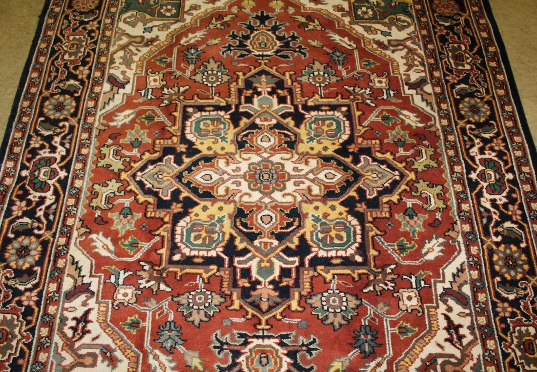late 20th c Persian Heriz pattern main carpet - 2