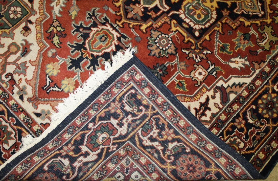 late 20th c Persian Heriz pattern main carpet - 3