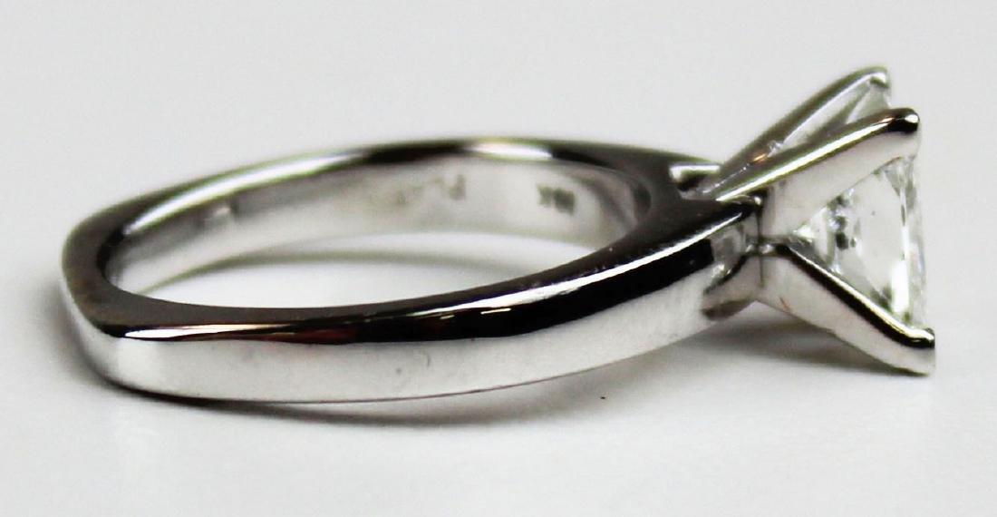 1.4 ct Platinum and diamond engagement ring - 2