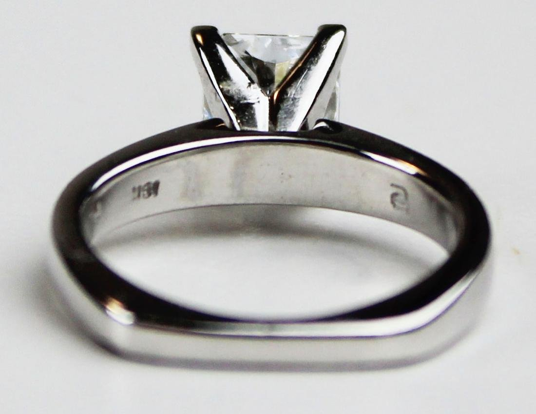 1.4 ct Platinum and diamond engagement ring - 3