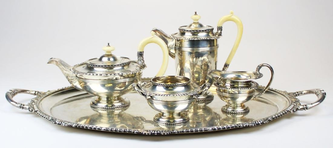 1925 Walker & Hall Sheffield sterling tea service