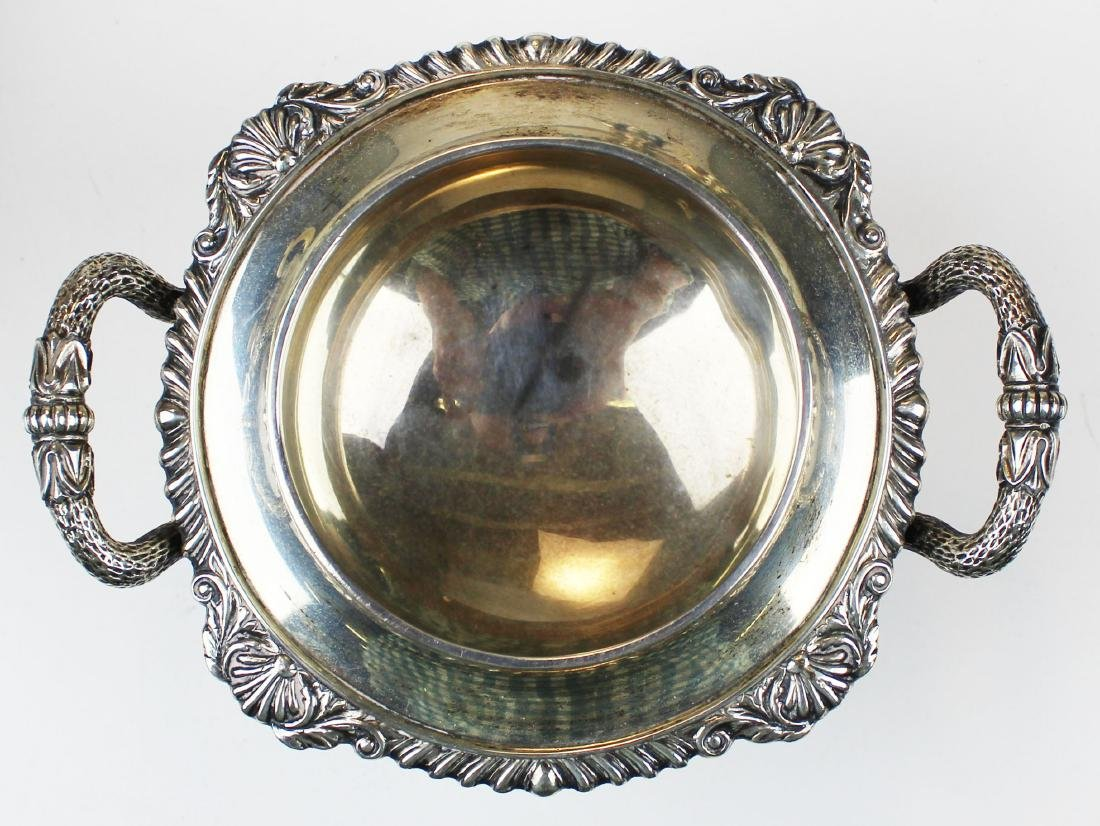 1925 Walker & Hall Sheffield sterling tea service - 7