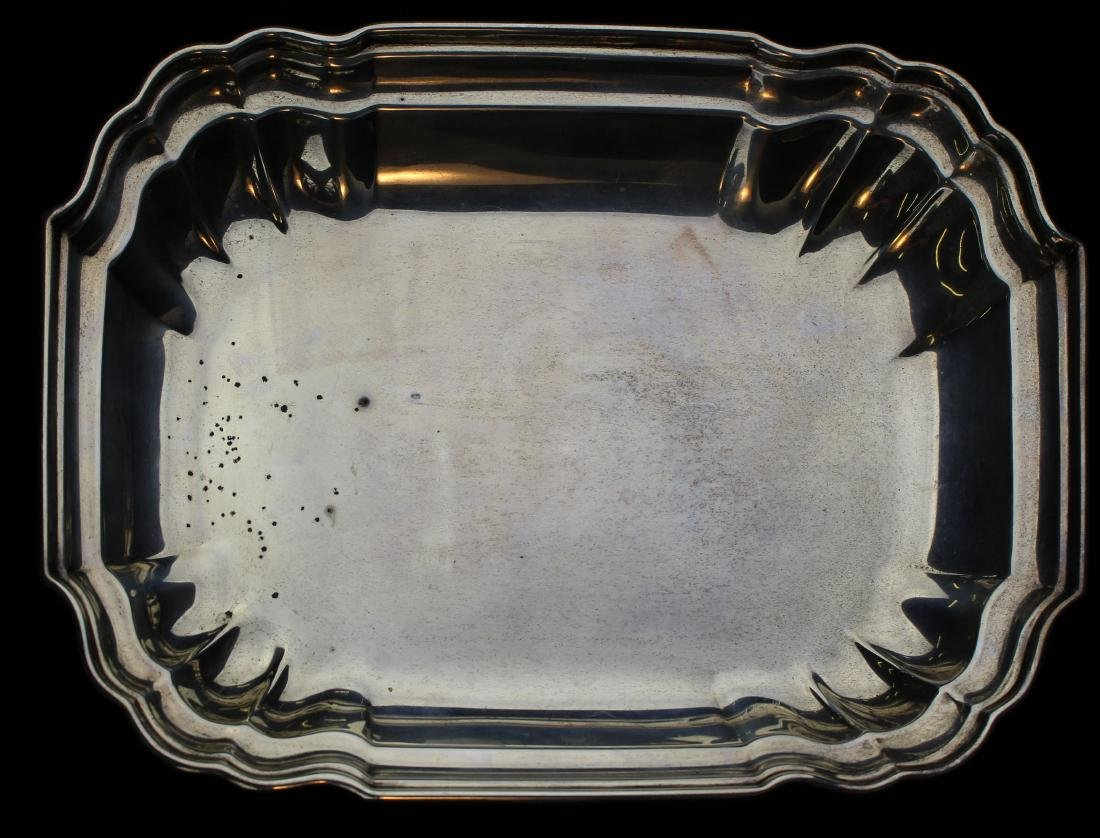 International Sterling rectangular serving dish