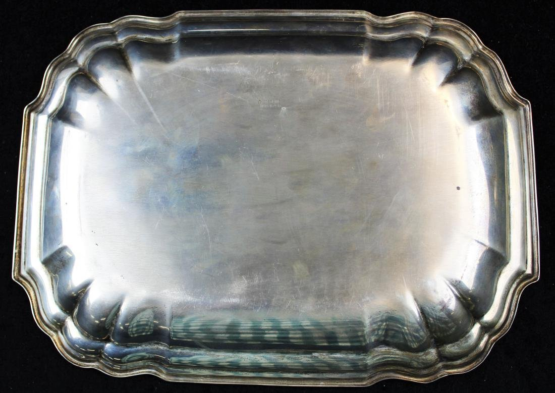 International Sterling rectangular serving dish - 4