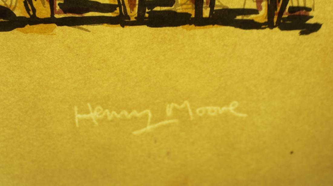 Henry Moore (1898-1986) Thirteen Standing Figures - 2