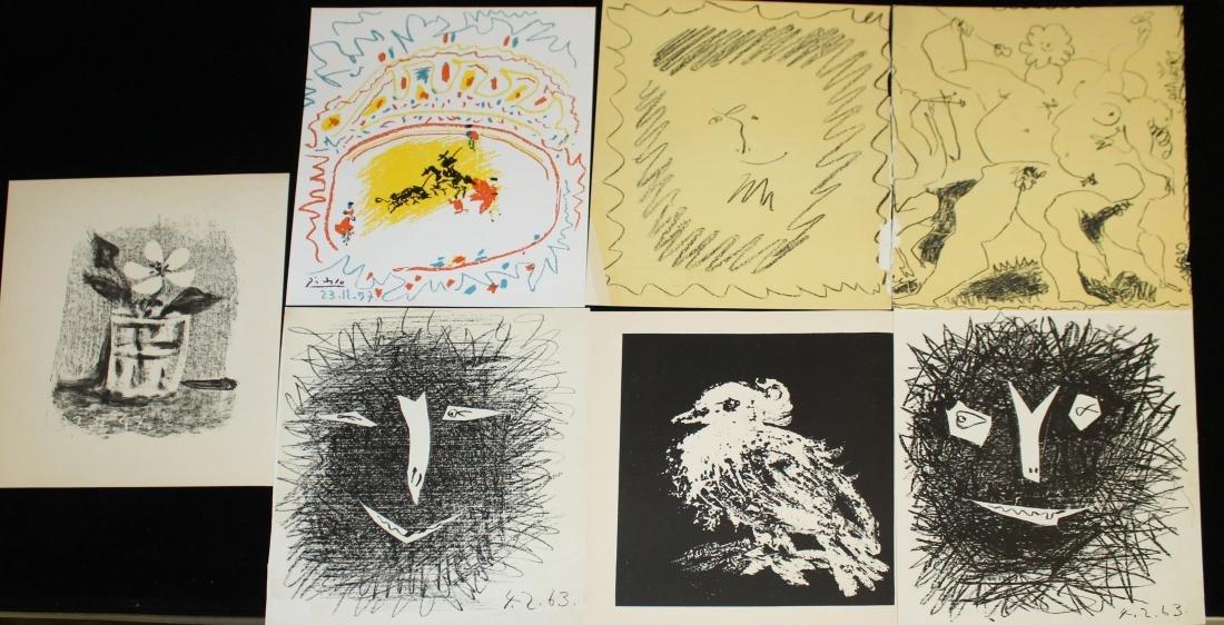 Pablo Picasso (SP 1881-1973) Six lithographs