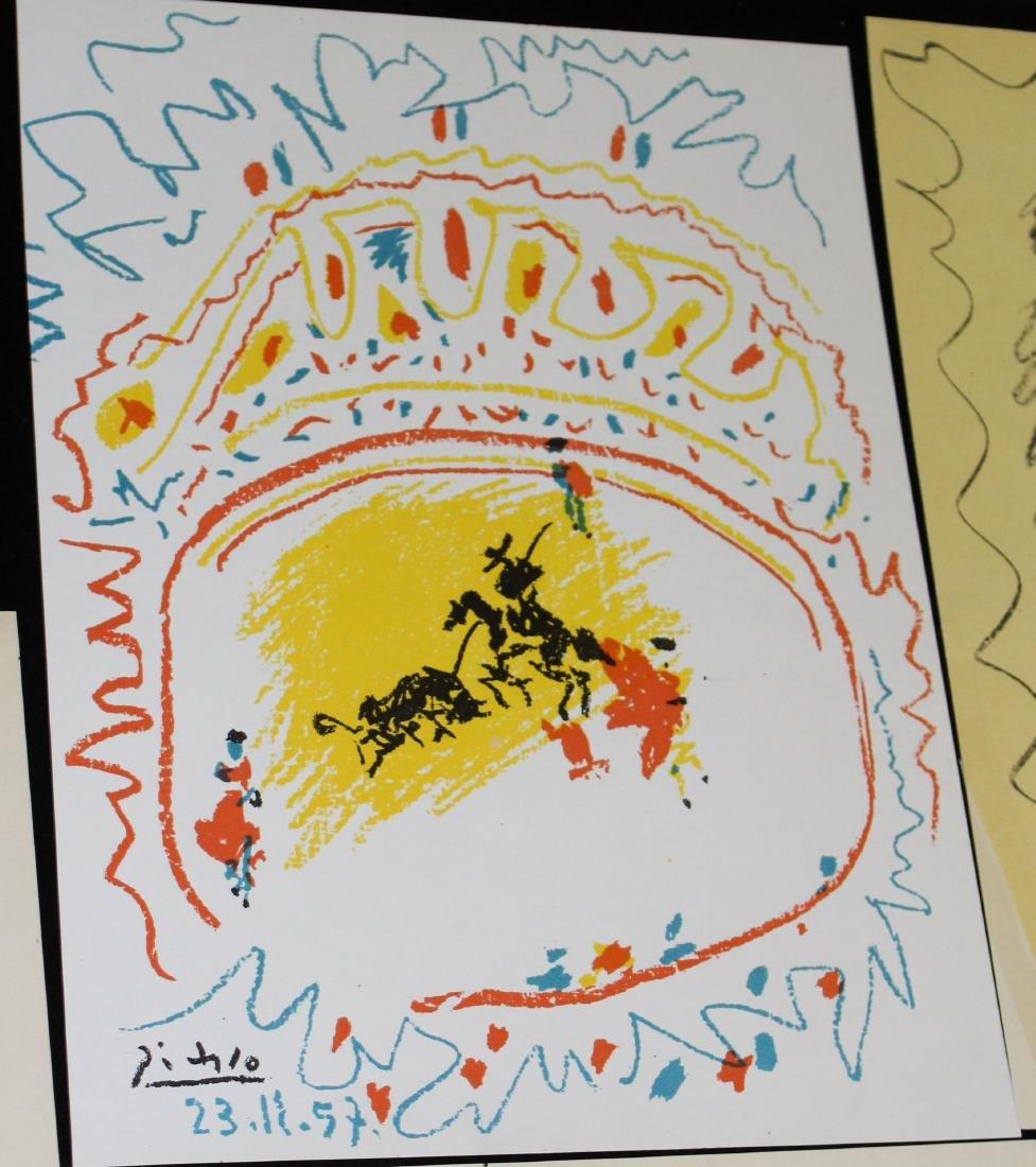 Pablo Picasso (SP 1881-1973) Six lithographs - 6