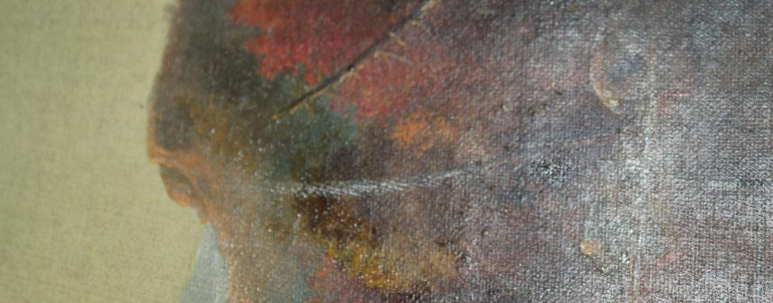 19th c Hudson River school oil on canvas - 2